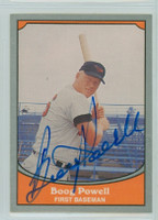 Boog Powell AUTOGRAPH 1990 Pacific Legends Orioles 