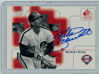 Mike Schmidt AUTOGRAPH 1999 Upper Deck SP Signature Phillies CERTIFIED 