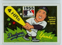 Duke Snider AUTOGRAPH d.11 1967 Laughlin World Series Dodgers 