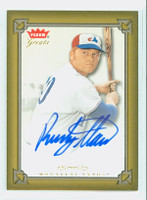 Rusty Staub AUTOGRAPH 2004 Fleer Greats of the Game Expos CERTIFIED 