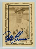 Bobby Thomson AUTOGRAPH d.10 1980-83 Cramer Baseball Legends Giants 