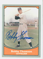 Bobby Thomson AUTOGRAPH d.10 1990 Pacific Legends 