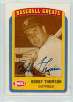 Bobby Thomson AUTOGRAPH d.10 Swell Giants 