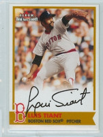 Luis Tiant AUTOGRAPH 2001 Fleer Red Sox 100th Red Sox CERTIFIED 
