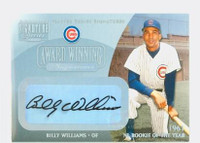 Billy Williams AUTOGRAPH 2001 Donruss Award Winning Signatures Cubs CERTIFIED 