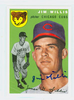 Jim Willis AUTOGRAPH Topps 1954 Archives Cubs   [SKU:WillJ5614_T54BBRPLB]