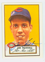 Joe Nuxhall HIGH # AUTOGRAPH d.07 1952 Topps 1983 Reprint Reds 