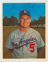 Jim Lefebvre AUTOGRAPH 1967 Dexter Press Dodgers 