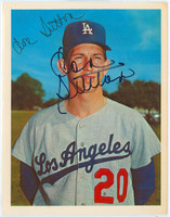 Don Sutton AUTOGRAPH 1967 Dexter Press Dodgers 