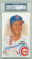 Billy Williams AUTOGRAPH Perez-Steele HOF Cubs PSA 9 