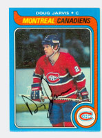 Doug Jarvis AUTOGRAPH 1979-80 Topps Canadiens 