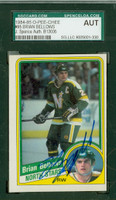 Brian Bellows AUTOGRAPH 1984 OPC North Stars SGC/JSA 