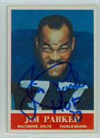 Jim Parker AUTOGRAPH d.05 1964 Philadelphia #8 Colts 
