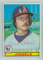 Dave Chalk AUTOGRAPH 1979 Topps #682 Angels 