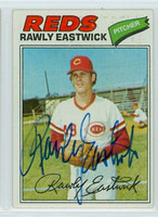 Rawly Eastwick AUTOGRAPH 1977 Topps #45 Reds 