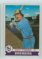 Ray Fosse AUTOGRAPH 1979 Topps #51 Brewers 