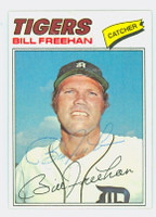 Bill Freehan AUTOGRAPH 1977 Topps #22 Tigers 