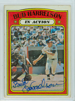 Bud Harrelson AUTOGRAPH 1972 Topps #54 Mets In Action   [SKU:HarrB1692_T72BBIA]