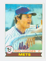 Ron Hodges AUTOGRAPH 1979 Topps #46 Mets 