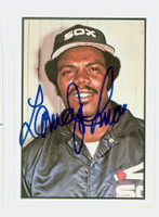 Lamar Johnson AUTOGRAPH 1978 SSPG All Star Gallery White Sox 