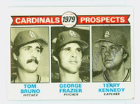 Terry Kennedy AUTOGRAPH 1979 Topps #724 Cardinals 