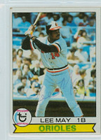 Lee May AUTOGRAPH 1979 Topps #10 Orioles   [SKU:MayL963_T79BBpl]