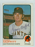 Randy Moffitt AUTOGRAPH 1973 Topps #43 Giants 