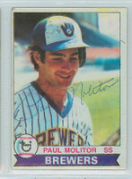 Paul Molitor AUTOGRAPH 1979 Topps #24 Brewers 