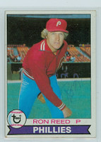 Ron Reed AUTOGRAPH 1979 Topps #177 Phillies   [SKU:ReedR1618_T79BBpl]