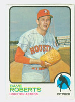 Dave Roberts AUTOGRAPH d.09 1973 Topps #39 Astros   [SKU:RobeD7216_T73BB]
