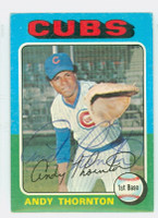 Andre Thornton AUTOGRAPH 1975 Topps #39 Cubs   [SKU:ThorA6326_T75BB]
