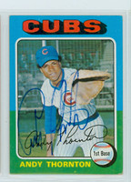 Andre Thornton AUTOGRAPH 1975 Topps #39 Cubs 