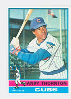 Andre Thornton AUTOGRAPH 1976 Topps #26 Cubs   [SKU:ThorA6326_T76BB]