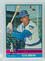 Andre Thornton AUTOGRAPH 1976 Topps #26 Cubs   [SKU:ThorA6326_T76BBCpl]