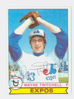 Wayne Twitchell AUTOGRAPH d.10  1979 Topps #43 Expos 
