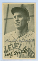 Earl Averill HOF AUTOGRAPH d.83 1936 Goudey Wide Pen Type 4 Indians 