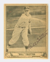 Bill Trotter AUTOGRAPH d.84 1940 Play Ball Browns 