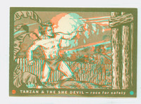 1953 Tarzan|She Devil 16 Race For Safety Excellent to Mint