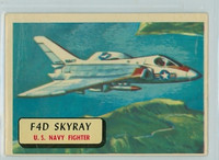1957 Planes 1 F4D Skyray Very Good RED