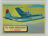 1957 Planes 4 YC-130 A Hercules Near-Mint RED