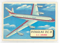 1957 Planes 12 Douglas DC-8 Near-Mint RED