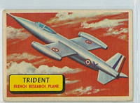 1957 Planes 17 Trident Very Good BLUE