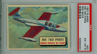 1957 Planes 20 MS 760 Paris PSA 6 Excellent to Mint RED