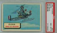 1957 Planes 22 Djinn PSA 8 Near Mint to Mint RED