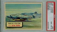 1957 Planes 23 F84-K Ficon PSA 8 Near Mint to Mint RED