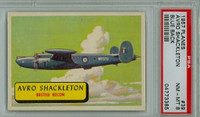 1957 Planes 39 Avro Shackleton PSA 8 Near Mint to Mint BLUE