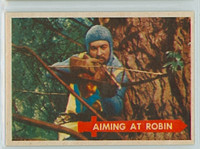 1957 Robin Hood 23 Aiming at Robin Near-Mint