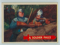 1957 Robin Hood 25 Soldier Falls Near-Mint