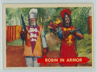 1957 Robin Hood 46 Robin in Armor Near-Mint