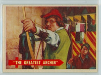 1957 Robin Hood 50 Greatest Archer Excellent to Mint